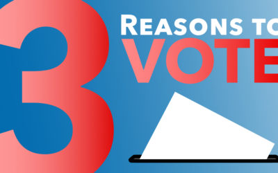 Three Reasons to Vote
