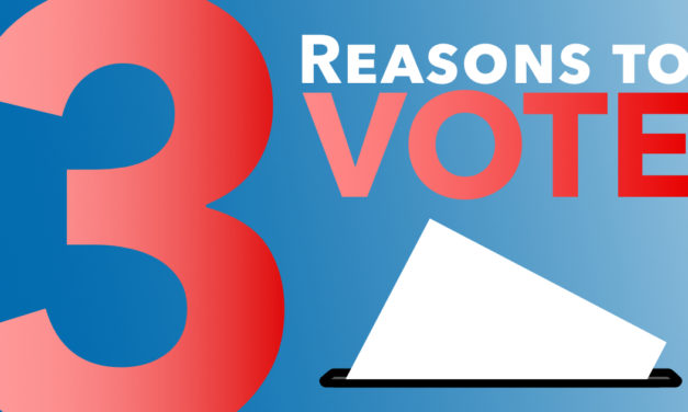Three Reasons to Vote