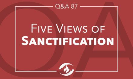 Q#87 Five Views of Sanctification