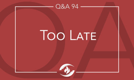 Q#94 Too Late