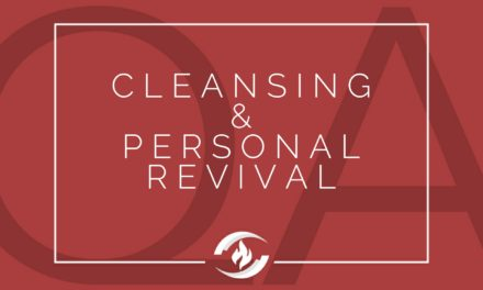 № 105: Cleansing and Personal Revival