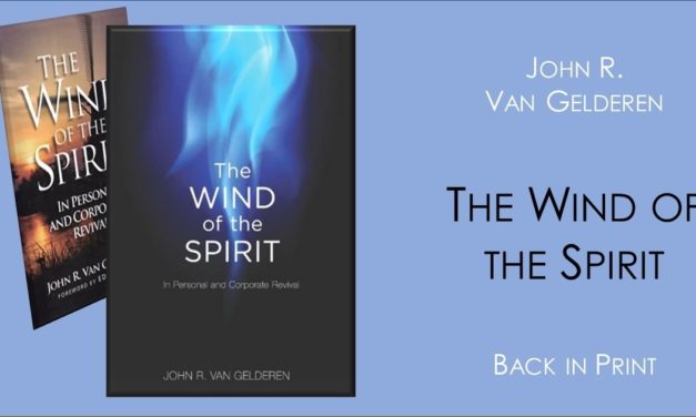 The Wind of the Spirit – Back in Print!