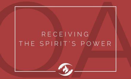 № 126 – Receiving the Spirit's Power