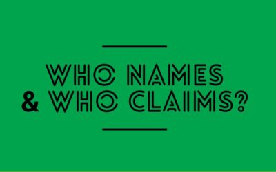 Who Names and Who Claims?