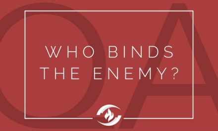 № 127 – Who Binds the Enemy?