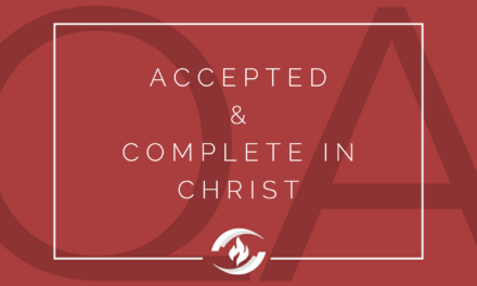 Q#128 Accepted and Complete in Christ