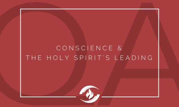 № 130 – Conscience and the Holy Spirit's Leading