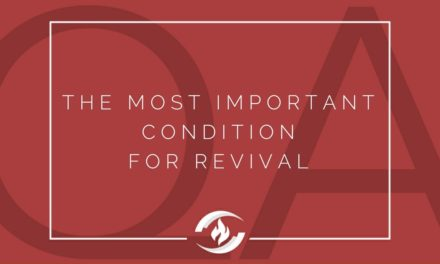 № 131 – The Most Important Condition for Revival