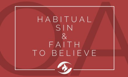 № 133 – Habitual Sin and Faith to Believe