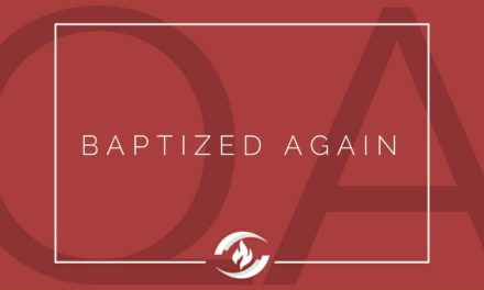 № 134 – Baptized Again?