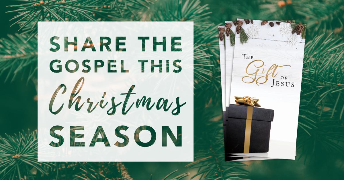 The Gift of Jesus Christmas Tract