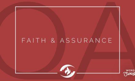 № 137 – Faith and Assurance
