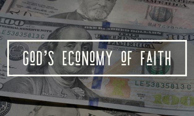 God's Economy of Faith