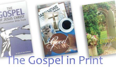 The Gospel in Print