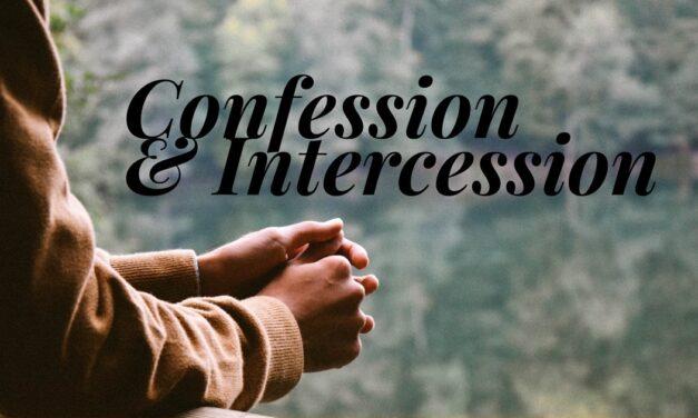 № 145 – Confession and Intercession
