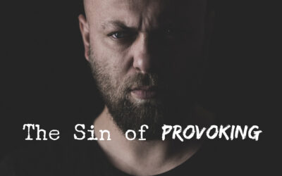 The Sin of Provoking